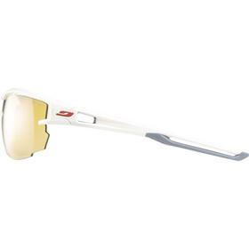 Julbo Aero Zebra Light Sunglasses White/Gray-Yellow/Brown